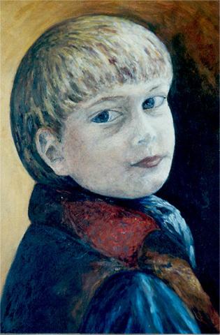 peinture portrait Danielle bernaudon